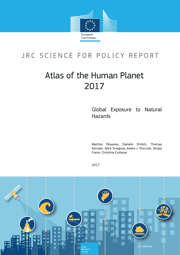 Front cover of the Atlas of the Human Planet 2017
